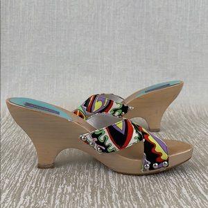 782e9d4e0e3 Emilio Pucci Shoes - 👑 EMILIO PUCCI HEELED SANDALS 💯AUTHENTIC